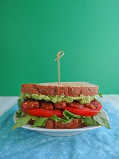 Avocado Tempeh BLT | Sunday Morning Banana Pancakes
