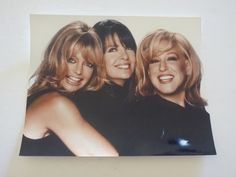 Bette Midler Goldie Hawn Diane Keaton First Wives Club Color Promo Photo Chick Flick Movies, Chick Flicks, Cheap Laser Printer, The First Wives Club, Bette Midler, Goldie Hawn, Diane Keaton, Learn To Dance, Classic Hollywood