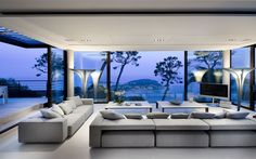 Exclusive Retreat on the French Riviera: Villa Baie in Villefranche-sur-Mer via Luxury Villa France, Villas, Villefranche Sur Mer, Luxury Homes Dream Houses, Dream Homes, Bohemian Style Bedrooms, Small Living Rooms, Cozy Living, French Riviera