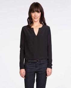 Mixed fabric t-shirt | T-shirts | Comptoir des Cotonniers