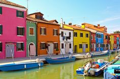 Burano Island, Italy | The 24 Most Colorful Cities In The World