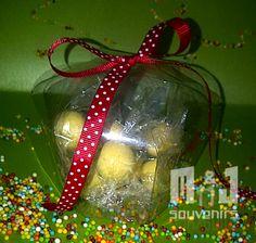 Caja para dulces Materiales: Acetato, cinta