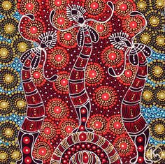 Aboriginal Dot Animals Aboriginal Art Dot Painting