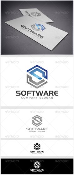 Software Logo - Letters Logo Templates