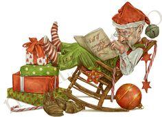 Santas, Montse Rubio Illustrator