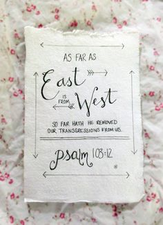 Custom Hand Drawn Scripture Art Psalm by LovelyIntentions, $10.00