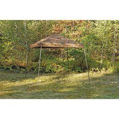 10' x 10' Camo Pop-up Shelter. Perfect for backyard camo weddings!