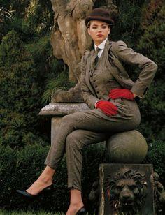 Bruce Weber / Vogue Germany January 2013. Theestyledictator