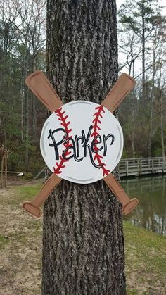Hey, I found this really awesome Etsy listing at https://www.etsy.com/listing/287544417/baseball-door-hanger-sports-door-hanger