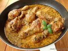 Smak Mojego Domu: Pałki z kurczaka w ziołowym sosie koperkowym Poultry, Curry, Meat, Chicken, Dinner, Ethnic Recipes, Cooking Ideas, Food Ideas, Clothes