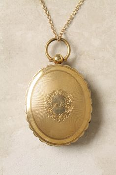 Victorian engraved locket... so beautiful.. I just died a little.