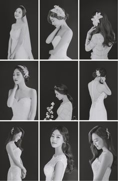 korea pre wedding photoshoot studio – T-Shirts & Sweaters Bridal Poses, Bridal Shoot, Wedding Poses, Bridal Portraits, Wedding Shoot, Wedding Bride, Korean Wedding Photography, Bridal Photography, Wedding Collage
