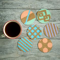 Duck Tape Coasters. Get creative with Duck Tape & earn points for exclusive prizes with #Ducktivities!