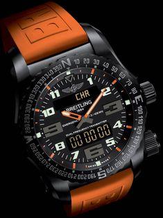 La Cote des Montres : La montre Breitling Emergency Night Mission - Sécurité renforcée