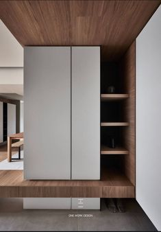 Shoe Cabinet - No matter which room you decide to store your casual or dress shoes in, seriously consider at least one of the fifty below shoe-storing solutions Shoe Cabinet Entryway, Shoe Cabinet Design, Entryway Decor, Hallway Furniture, Flur Design, Hallway Designs, Wardrobe Design, Interior Architecture, Living Room Designs