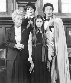 The Worst Witch, Fairuza Balk, Tim Curry, and Charlotte Rae. I watch it multiple times every year. Kid Movies, Scary Movies, Cult Movies, Charlotte Rae, Grand Wizard, Fairuza Balk, Weird Songs, Creepy Costumes, The Rocky Horror Picture Show
