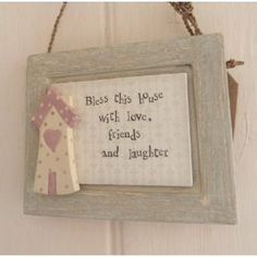 New Bless this House Mini Sign Picture