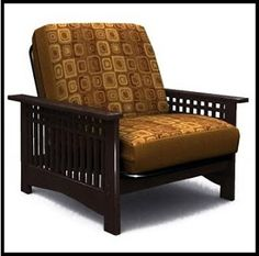 Rhodes Futon Chair #chair #livingroomfurniture
