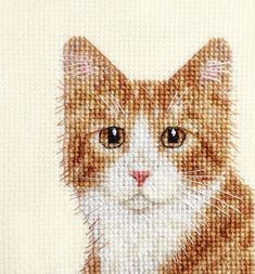 Thrilling Designing Your Own Cross Stitch Embroidery Patterns Ideas. Exhilarating Designing Your Own Cross Stitch Embroidery Patterns Ideas. Cat Cross Stitches, Cross Stitch Needles, Counted Cross Stitch Kits, Cross Stitching, Cross Stitch Embroidery, Embroidery Patterns, Cross Stitch Cards, Cross Stitch Animals, Cross Stitch Designs