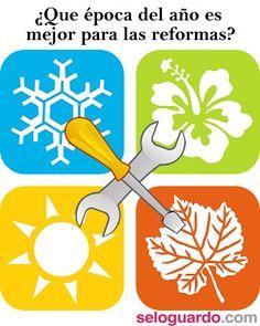 ¿Cuál es la mejor época del año para hacer reformas? http://www.seloguardo.com/mejor-epoca-para-hacer-reformas/