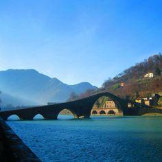 Ponte del diavolo by @lanfaran