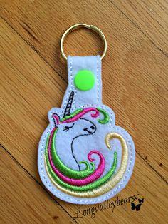 Hey, I found this really awesome Etsy listing at https://www.etsy.com/listing/517749943/felt-unicorn-key-ring-felt-key-chain-key