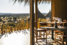 Fresh, local, spicy: In Zannier's first African lodge, Omaanda, the kitchen team serves the best regional ingredients and grills on an open flame outside Namibia's wilderness. Hotels In Cambodia, Indoor Waterfall, Namib Desert, In Patagonia, Seven Wonders, Game Reserve, African Safari, Luxury Travel, Nice View
