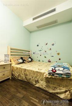 Fresh green home improvement kids room decoration 2016