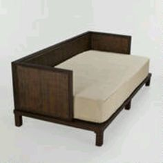 """originally says, """"Twin mattress to couch"""". but i'm thinking, crib mattress to a toddler bed"""