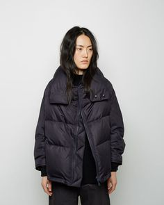 Y's   Reversible Puffer Coat   La Garçonne