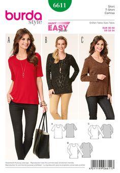 Burda 6611  sewing pattern