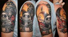 jack skellington tattoos | jack skellington – Holytaco