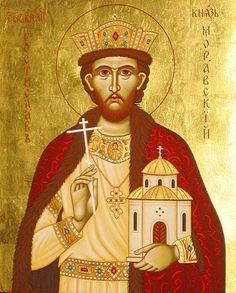 ST. ROSTISLAV the Prince of Great Moravia