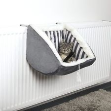 PET Cat Prince RADIATOR Warm FLEECE BED BASKET Cradle Hammock by TRIXIE