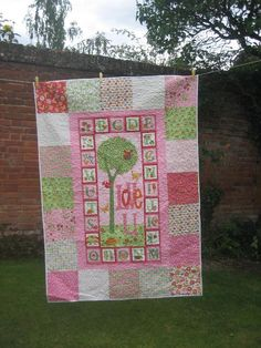 pretty little girls quilt