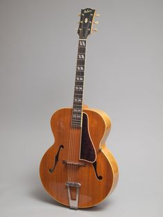 1947 Gibson L-7 blonde in excellent condition.  We don't say this often but this is one of the best archtop guitars we have ever come across.