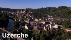 Uzerche en Corrèze - Vue du ciel -  Drone Expert 2016