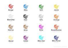 Et vous, quelle est votre couleur préférée?