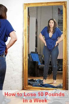 How to Lose 10 Pounds in a Week - The 8 Steps I Took That Forced My Body to Drop 10 Pounds #WeightLoss