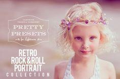 Retro Rock-n-Roll Portrait Collection for Lightroom 4 and Lightroom 5.