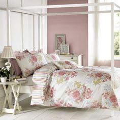 Janet Reger Bedding Sets & Duvet Covers Home, Furniture & DIY Cotton Bedding, Linen Bedding, Duvet Sets, Duvet Cover Sets, Janet Reger, Floral Cushions, Stylish Beds, Bloom, Bedding Collections