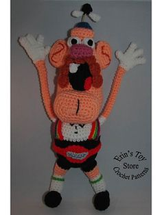 Ravelry: Uncle Grandpa pattern by Erin Scull