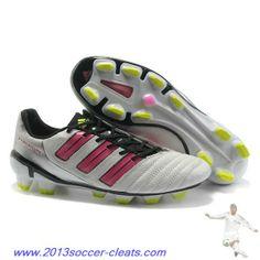 2013 Adidas Predator XI TRX FG Boots White Pink Green For Sale. Adidas Soccer  CleatsNike ...