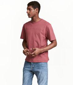 T-shirt   Blekröd   Herr   H&M SE