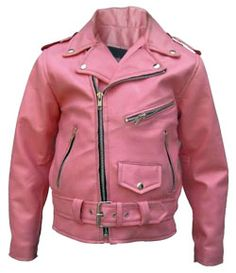 groovy kids leather jacket
