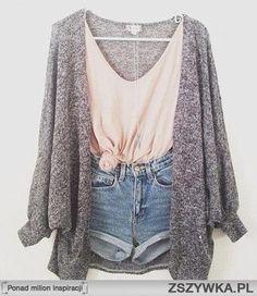 Simple cozy cute clothes (: