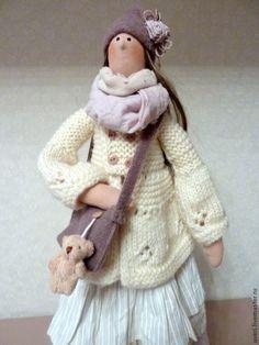 Купить Кукла тильда Алина - кукла ручной работы, кукла Тильда, куклы и игрушки ♡