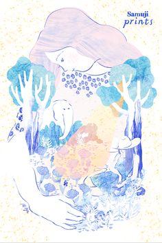 Campaign Illustrations - Aya Iwaya