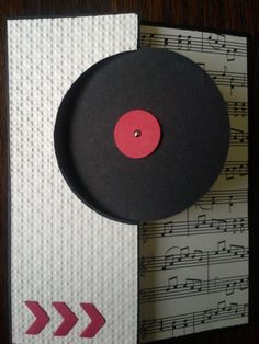 RECORD CIRCLE THINLIT OMGoodness how coooool is this card. Perfect for those of us who remember vinyl records...lol; love, love, love it...mjr