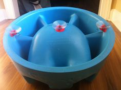 Turn your Bumbo into a bath seat